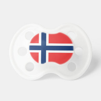 Norway flag baby pacifier   Cute baby shower gift