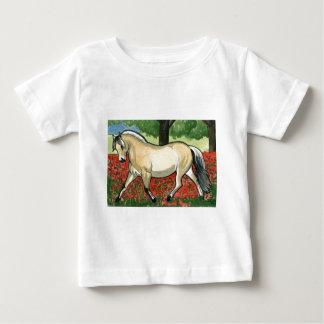 Norwegian Fjord HORSE ART Tee Shirt