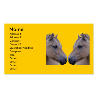 Norwegian Fjord Pack Of Standard Business Cards