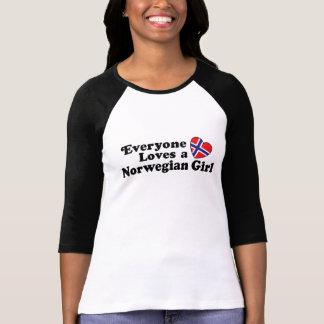 Norwegian Girl T-shirts