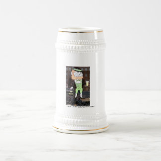 NOT JUST ST PATTY'S DAY BEER STEINS