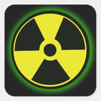 Nuclear Hazard Sticker