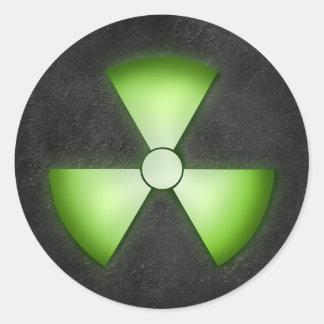 Nuclear Waste Sticker