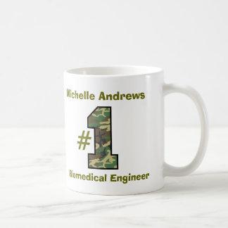 Number One Biomedical Engineer any Profession V48 Basic White Mug