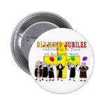 Nuns Diamond Jubilee 75th Year of Service 6 Cm Round Badge