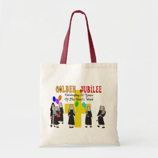 Nuns Golden Jubilee Gifts Budget Tote Bag