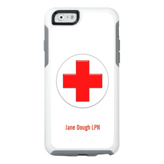 Nurse Cross Name Template OtterBox iPhone 6/6s Case