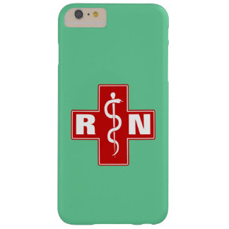 Nurse Initials Barely There iPhone 6 Plus Case