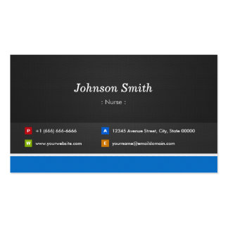 Nurse - Professional Customizable Pack Of Standard Business Cards