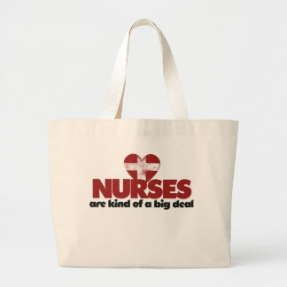 Nurses are kind of a big deal jumbo tote bag