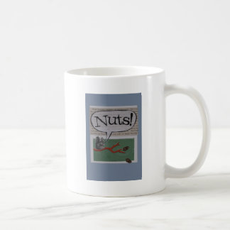 nuts basic white mug