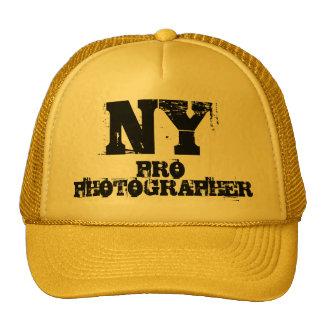 NY PRO PHOTOGRAPHER Hat