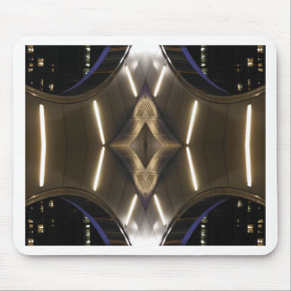 NYC Landmarks Futuristic Unusual Urban Elegance Mouse Pad