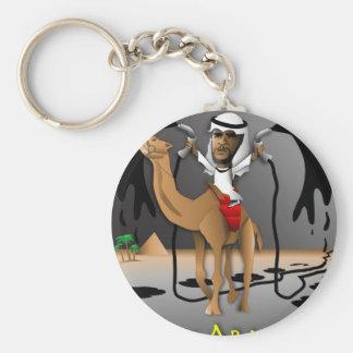 O of Arabia Basic Round Button Key Ring