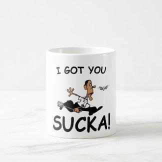 Obam Fly Swatter Mug