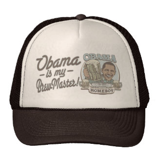 Obama is my Brewmaster by Buttonzup Cap