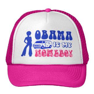 Obama Is My Homeboy Cap