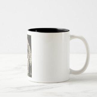 Obama is watching you.... Two-Tone mug