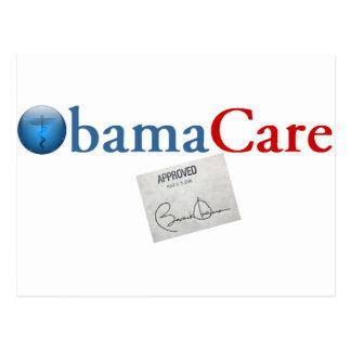 ObamaCare Approved Postcard