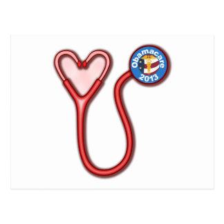 Obamacare Love Postcard