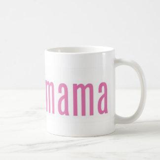 Obamamama 2 basic white mug