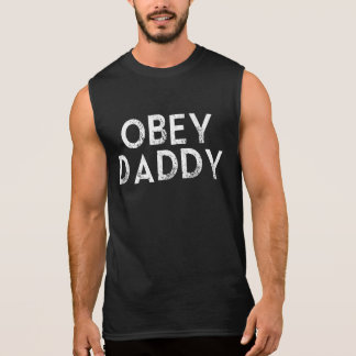 OBEY DADDY SLEEVELESS T-SHIRTS