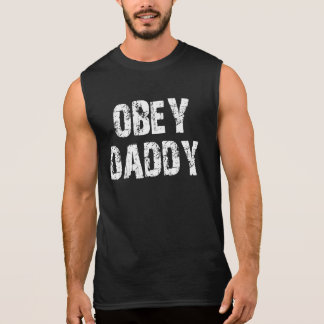 OBEY DADDY SLEEVELESS TEES