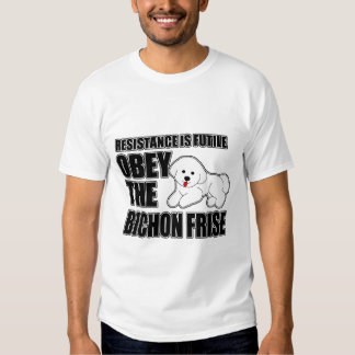 Obey The Bichon Frise Tee Shirts