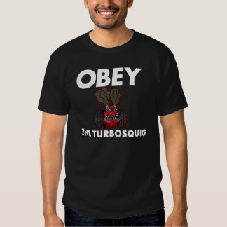 OBEY THE TURBOSQUIG T-SHIRTS