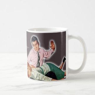 Obey thee basic white mug