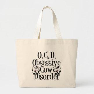 Obsessive Cow Disorder Jumbo Tote Bag