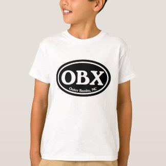OBX Outer Banks Black Oval Shirt