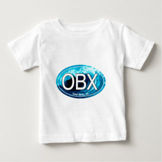 OBX Outer Banks Wave Oval T Shirts