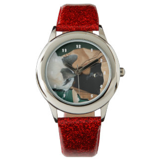 Occupied, Go Away! Funny Cats Wristwatches