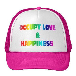Occupy Love and Happiness Cap
