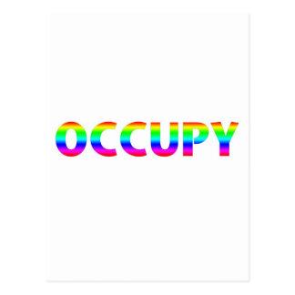 Occupy Rainbow Postcard