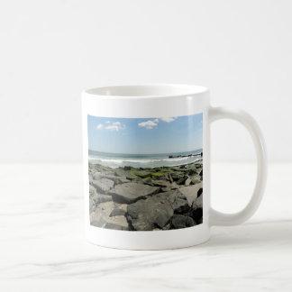 Oceanside Basic White Mug
