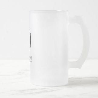 Ocrap Frosted Glass Mug