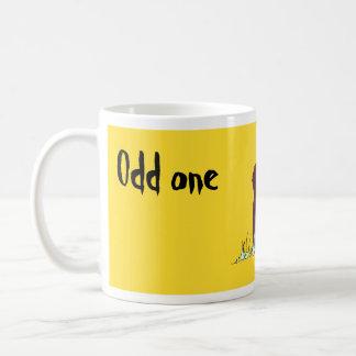 Odd one basic white mug