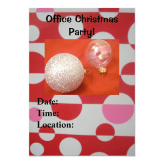 Office Christmas Party! Invitations
