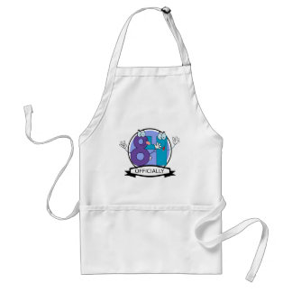 Officially 84 Birthday Banner Standard Apron