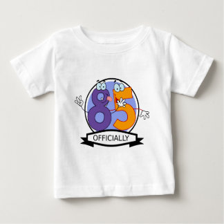 Officially 85 Birthday Banner Tshirts