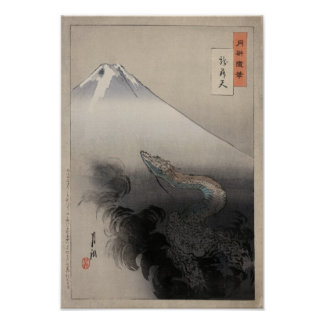 Ogata Gekko - Dragon rising to the Heavens Poster