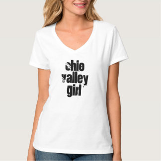 Ohio Valley Girl Playful Top Gift Souvenir T-shirt