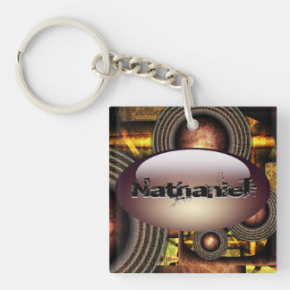 Oil machine Key Chain