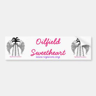 Oilfield Sweetheart Bumper Sticker