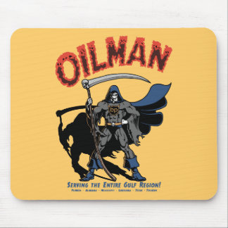 Oilman Mouse Pad