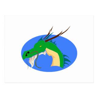 Old Dragon Postcard