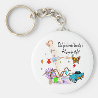Old Fashioned Beauty Keychain