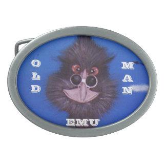 Old Man Emu Belt Buckle